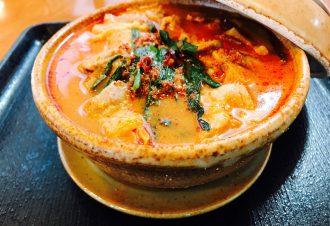 ゴマ豆乳チゲ鍋