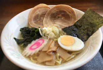 新 塩ラーメン 650円