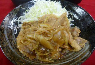 生姜焼き定食 730円