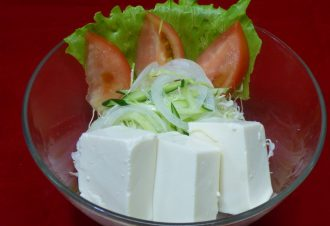 豆腐サラダ 420円