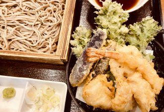 冬の天ぷらそば 950円