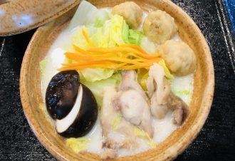 鶏白湯鍋580円