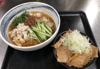 梅しそ冷麺ミニ焼肉丼セット 950円