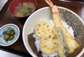 大海老天丼 850円