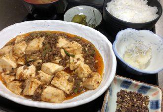 麻婆豆腐定食 850円