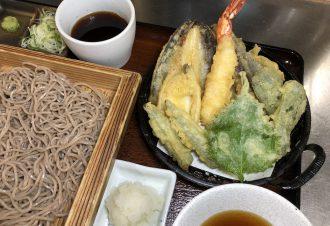 季節の天ぷらそば・うどん 冷・温 980円
